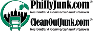 1-888-810-5865 PhillyJunk.com got junk removals Logo