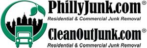 1-888-810-5865 PhillyJunk.com got junk removals Logo